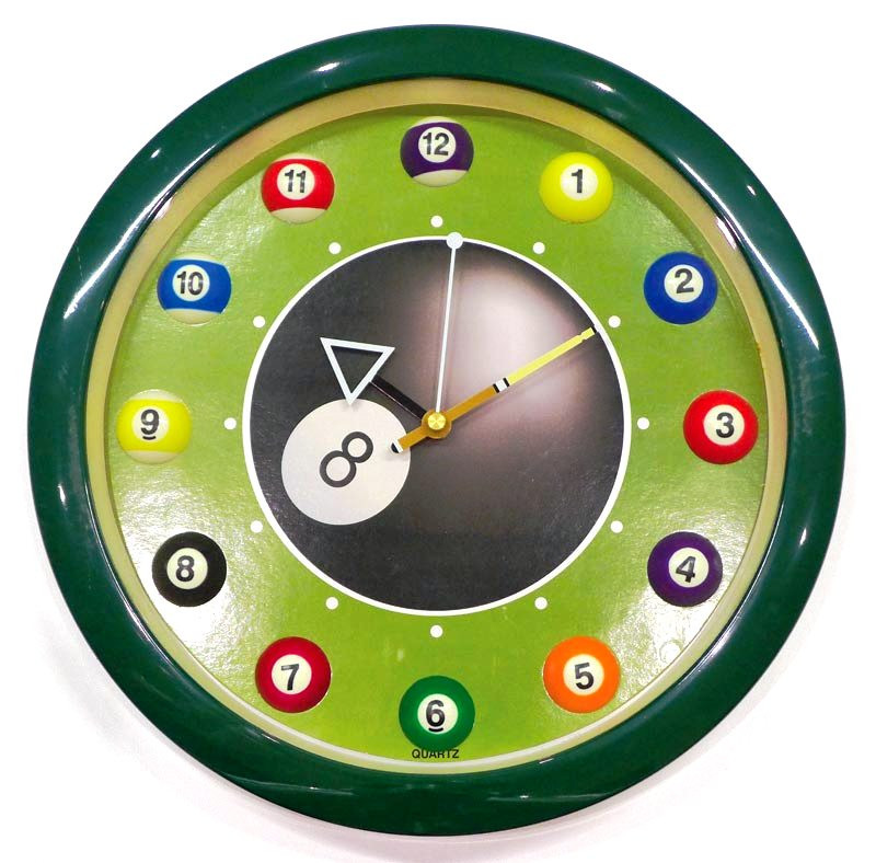 Accessories No 03 Clocks: Billiard Tables & Cloth